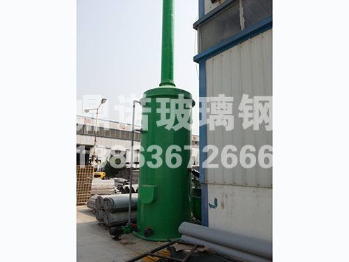玻璃钢锅炉脱硫塔
